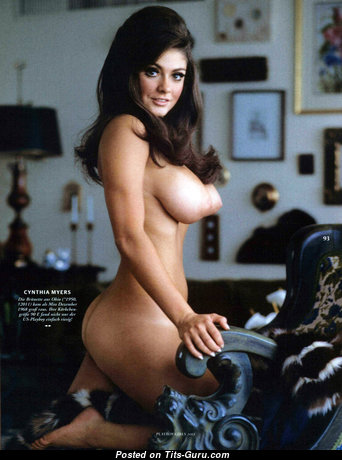 Cynthia Myers - Appealing American Playboy Red Hair with Appealing Nude Real Medium Knockers (Hd Porn Image)