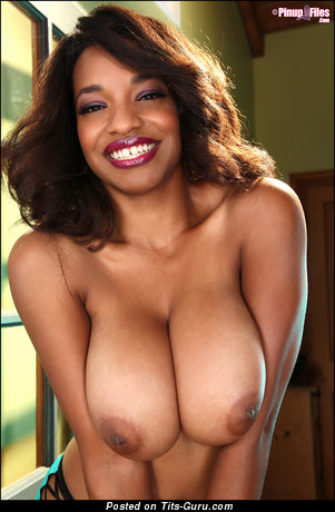 Image. Andrea Marquez - awesome lady with big natural boobs and big nipples image