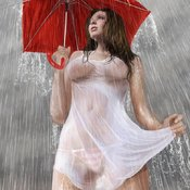 Sexy wet awesome woman image