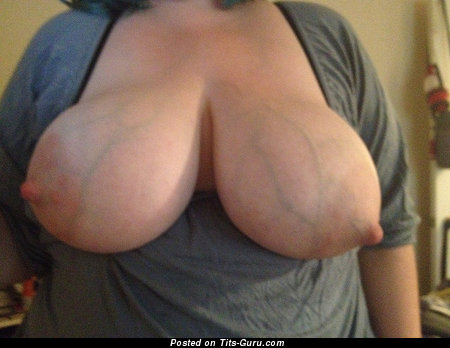 Image. Nude awesome lady with big tits and big nipples image