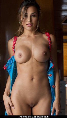 Sweet Glamour Brunette with Cute Open Medium Tittys & Big Nipples is Undressing on the Beach (Hd Sexual Picture)