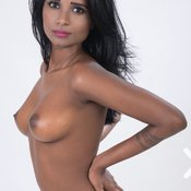 Resha - sexy wonderful woman with medium natural tittys photo