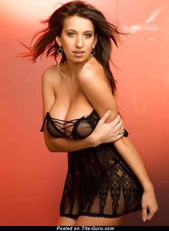 Image. Maria Swan - nude brunette with big natural tittes picture