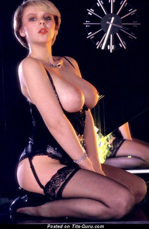 Alison Howard - Lovely British Blonde with Stunning Bald Real Dd Size Boob (Vintage Xxx Pix)