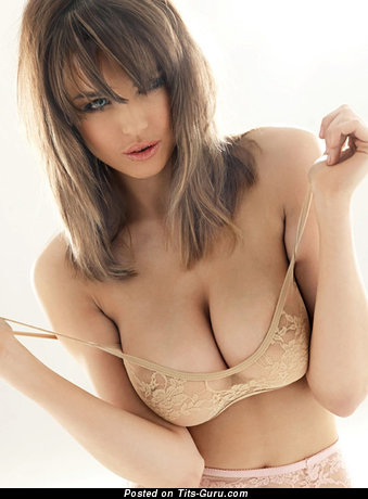 Daniella Sharp - Awesome Babe with Awesome Naked Natural Average Jugs in Lingerie is Undressing (Hd 18+ Foto)
