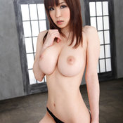 Miina Kanno - asian red hair with big natural tits pic