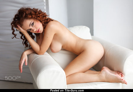 Awesome Babe with Awesome Open Natural D Size Busts (Hd Porn Photoshoot)