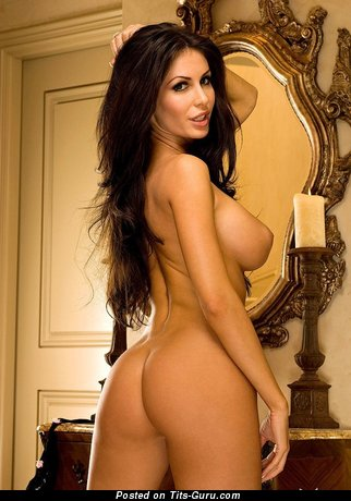 Image. Megan Voss - naked brunette with big tittys picture