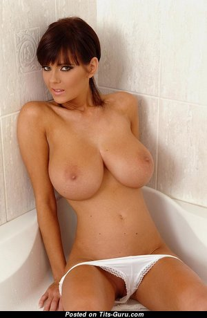 Karin Spolnikova - Graceful Topless Czech Brunette Babe with Magnificent Open Natural Med Knockers (Hd 18+ Picture)