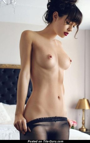 Awesome Moll with Awesome Bald Real Mid Size Boobs (Hd 18+ Image)