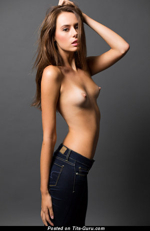 Graceful Topless Honey with Grand Nude Real Small Busts (Hd Xxx Pic)