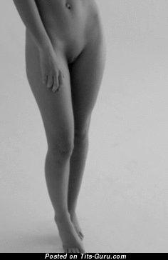 Image. Emily Ratajkowski - naked brunette with medium natural tits gif