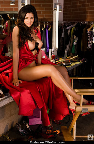 Hope Dworaczyk - Amazing American Playboy Red Hair with Amazing Naked Soft Boobies (Sexual Foto)