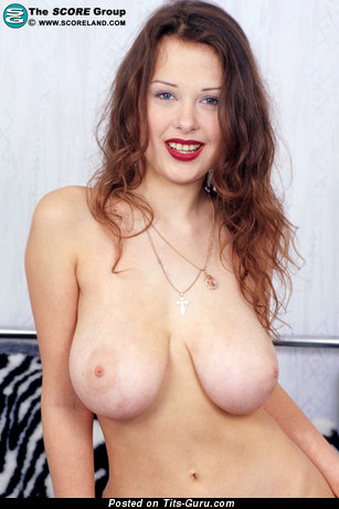 Image. Ira - naked beautiful woman with big natural boob picture
