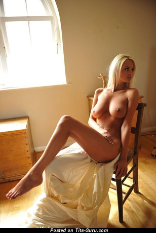 Image. Naked wonderful female with big natural breast image