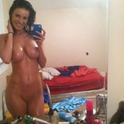 Awesome woman with big tittes pic
