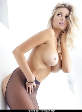 Devin Justine - Elegant American Babe with Elegant Defenseless Dd Size Breasts (Porn Pic)