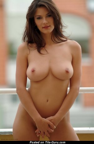 Image. Nude beautiful woman with big natural boob photo