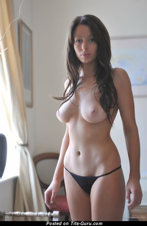 Image. Kirsty Corner - sexy topless hot girl with medium natural tittys pic