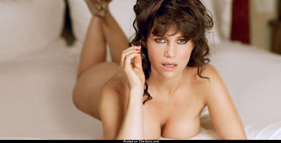 Carla gugino fake tits