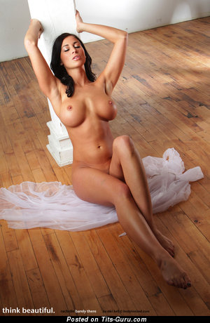 Image. Rachelle - wonderful female with medium fake boobs image