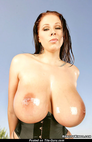 Gianna Michaels - Good-Looking American Pornstar with Good-Looking Bald Heavy Busts (Hd Porn Pic)