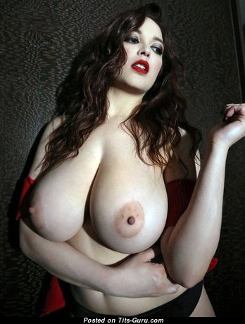 Tessa Fowler - Marvelous Topless American Red Hair Pornstar with Marvelous Naked Real Very Huge Melons & Long Nipples (Xxx Foto)