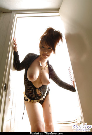 Image. Ai Sayama - nude asian with big natural boob and big nipples image