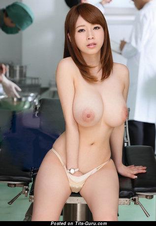 Saki Okuda - Graceful Japanese Girl with Graceful Nude Tight Breasts (Hd Porn Photo)