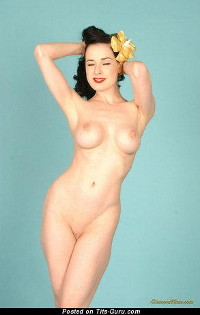 Image. Dita Von Teese - hot lady with fake tits picture