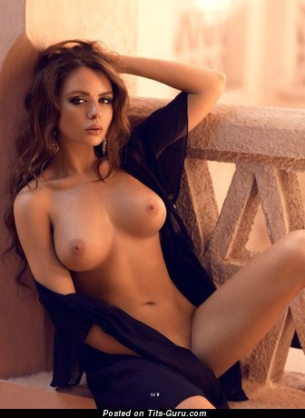 Image. Sexy naked beautiful female with natural boobies picture