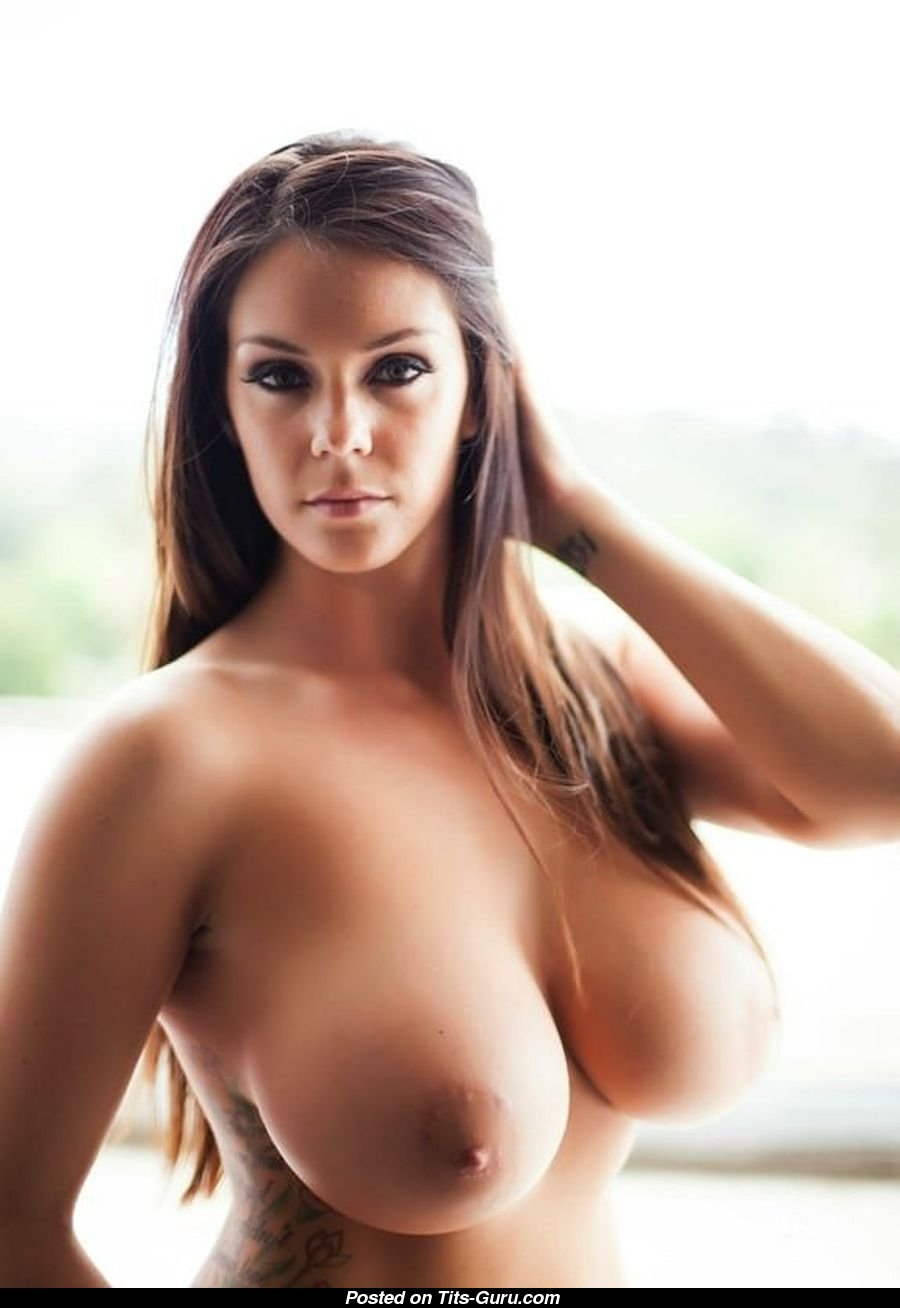 Brunette French Big Tits