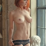 Sexy red hair photo