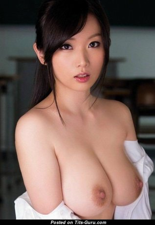 Pleasing Asian Babe with Alluring Exposed Natural Soft Tittys (Porn Pix)