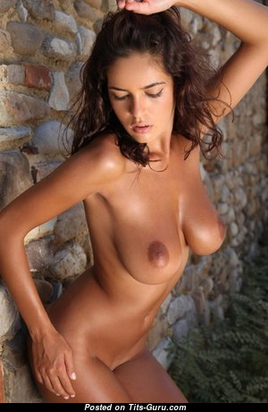 Charming Unclothed Brunette Babe (Xxx Pic)