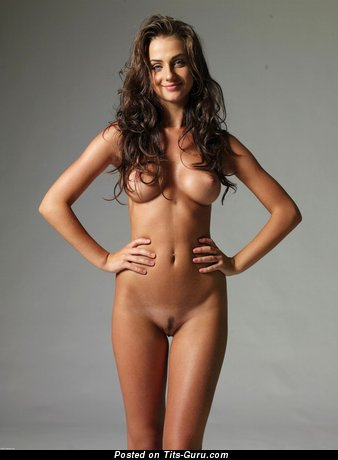 Image. Nude wonderful girl with medium natural tittes picture