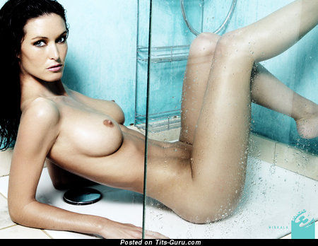 Image. Nikkala Scott - naked brunette with medium natural boob picture