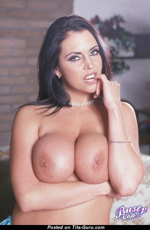 Angelica Sinn - Good-Looking Glamour & Topless Brunette Pornstar with Inverted Nipples (Sex Photo)