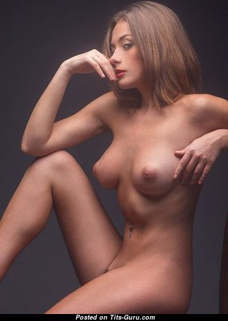 Alluring Babe with Alluring Defenseless Real Tittes (Sexual Image)