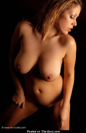 Image. Naked hot lady with big natural tits image