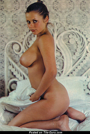Joanne Latham - naked awesome female with medium natural tits vintage