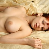 Red hair with big natural tittys pic