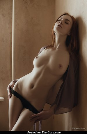 Image. Hot woman with medium natural breast pic