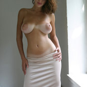 Wonderful female with big natural boobs photo