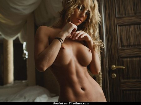 Image. Hot lady with big fake tittes image