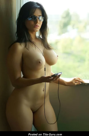Image. Hot woman with fake tits photo