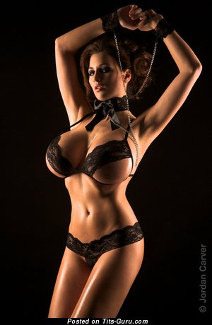 Image. Jordan Carver - nude beautiful girl with huge fake tittes picture