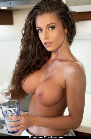Nude brunette image