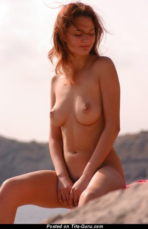 Image. Nude amazing lady with natural breast image