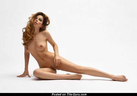 Karina Avakyan - sexy nude hot female with medium tittes picture